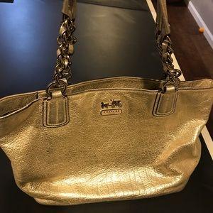 Coach Metallic purse, GUC